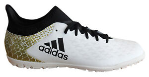Adidas X 16.3 TF Astro Lace Up White