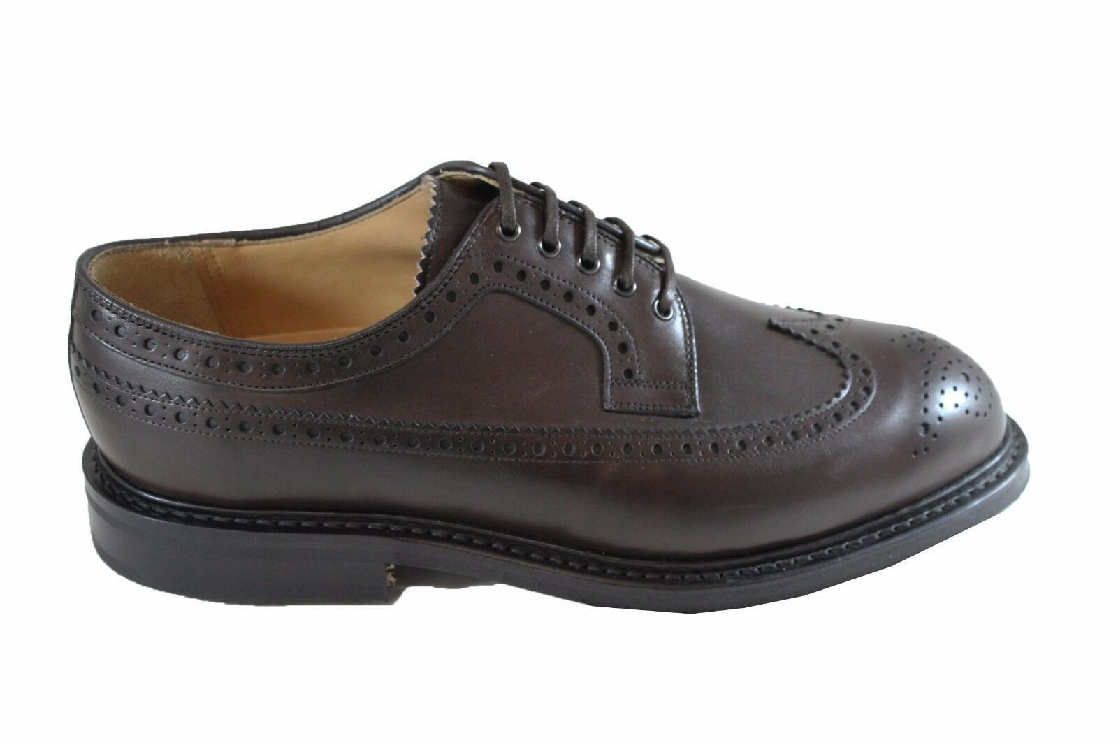 CHURCH'S SWING stringata Ebony nevada calf oxford stringata SWING vitello spazzolato GOLF 7aeb72