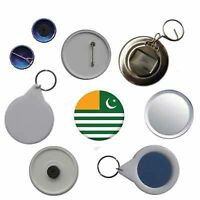 Kashmir Flag Pin Button Badge Magnet Keyring Bottle Opener Mirror