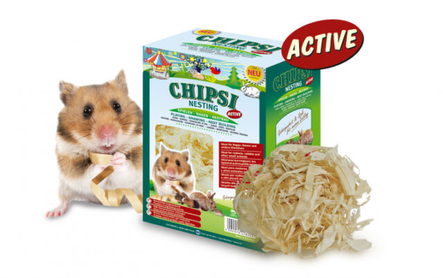 Chipsi Nesting Active 0.05kg for Rodents, rabbits & other small animals