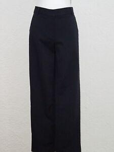 taglia Talbots in misto cotone Pantaloni donna Nuovo Black Medium da Casual 10 0rYxCqw8rX