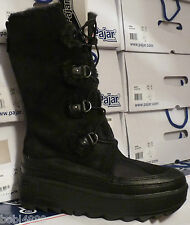LADIES PAJAR (native)BLACK warm waterproof winter /snow boots uk size 7 euro 40