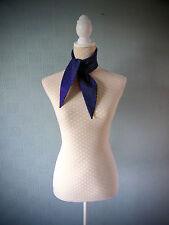 Blue polka dot rockabilly scarf, hair scarf, retro vintage style, fifties, 50's