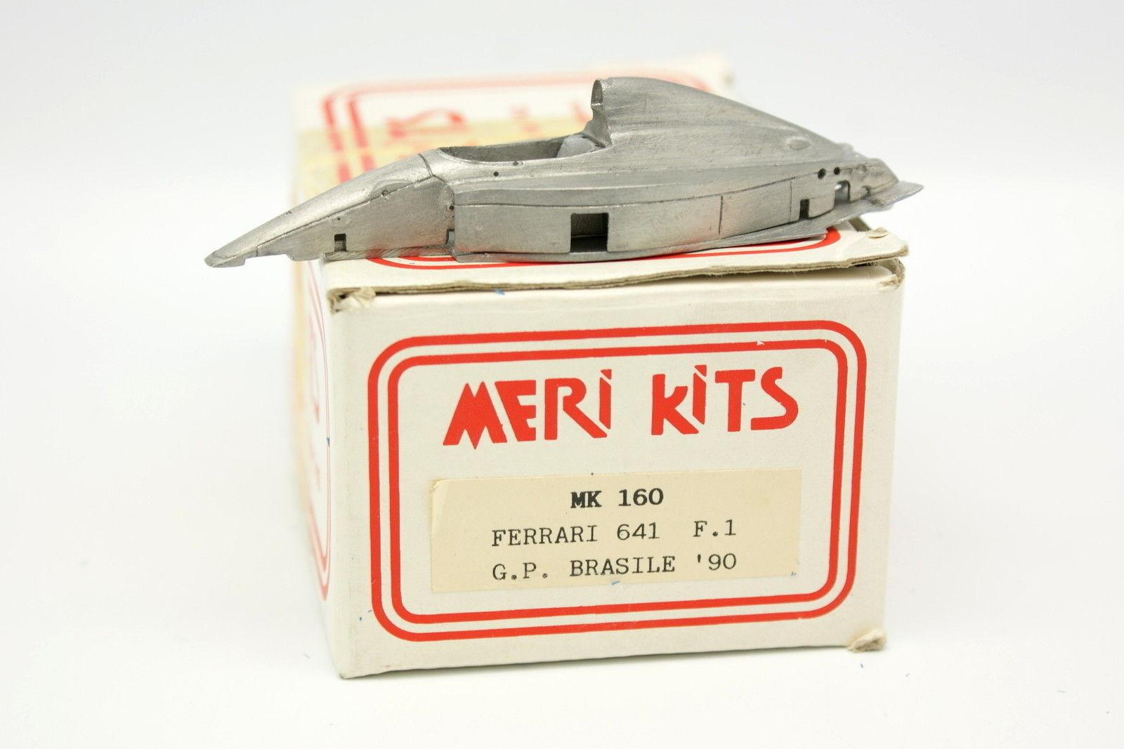 Meri Kit à monter blanc Metal 1 43 - Ferrari 641 F1 Bresil GP 1990