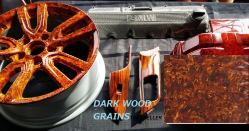 Glossy FILM 0.5 x 2m Dipping Hydrographics Water Transfer Printing Wood grains