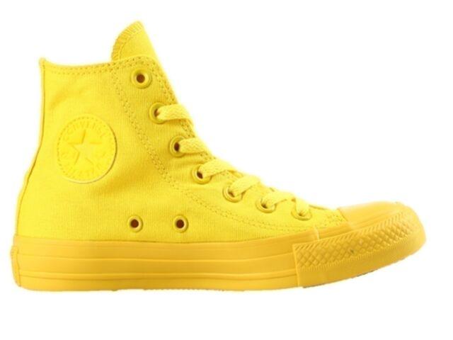 scarpe converse uomo gialle