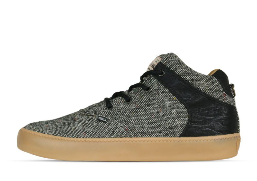 Djinns CHUNK Spotted Gum  Black - Sneaker - Herren - schwarz +NEU+
