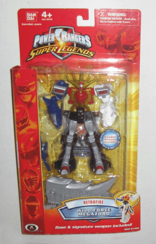 Power Rangers Super Legends Retro Wild Force 6