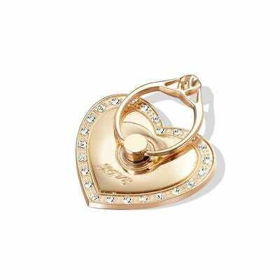 Finger Ring Grip Cell Phone Holder Stand Attachment Rotating Diamond Heart Love