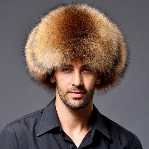 Women Men Winter Trapper Aviator Trooper Earflap Warm Russian Ski Hat Fur Bomber