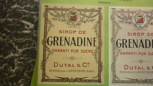 OLD-FRENCH-SOFT-DRINK-CORDIAL-LABEL-DUTAL-BREWERY-ANNEYRON-1