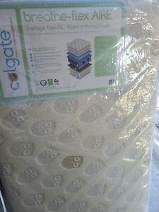 Colgate Breathe Flex Aire 2 Stage Infant Toddler Mattress 710651556008 Ebay