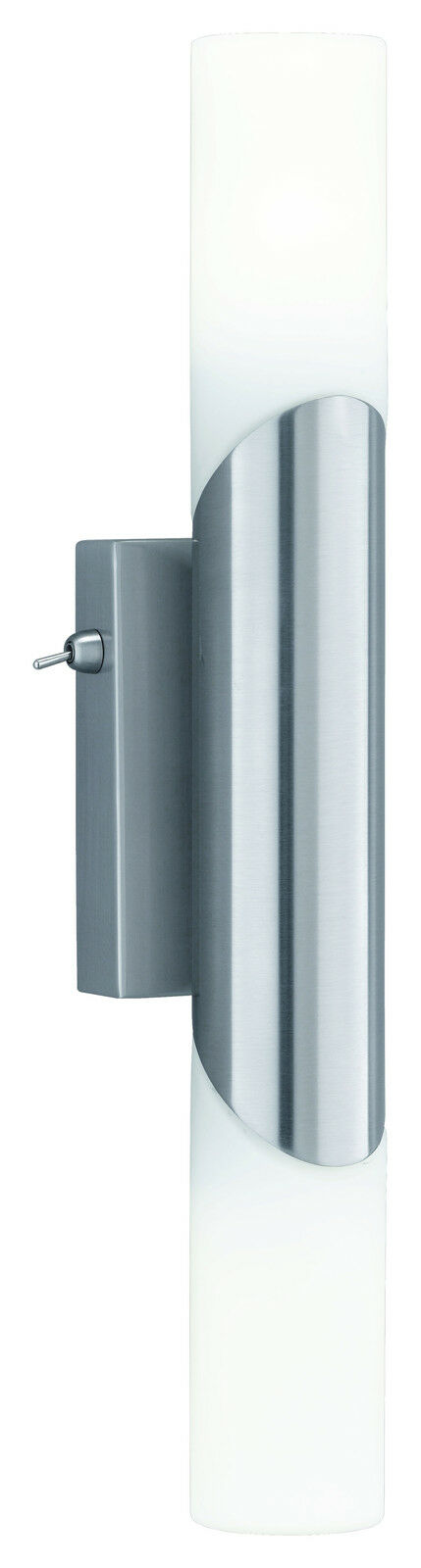 Moderne Wandleuchte, Badleuchte, 2 x E14, mit Schalter, Treppenhaus, LED möglich