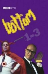 Bottom-Season-1-2-3-TV-Series-Rik-Mayall-3xDVDs-R4-Complete-Collection