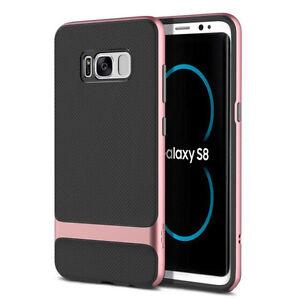 Original Rock Silikon Case Tasche Schwarzpink Für Samsung Galaxy S8