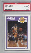 7b5c5f3a668 item 4 1989 FLEER BASKETBALL #76 A.C. GREEN LAKERS PSA 10 GEM MINT -1989  FLEER BASKETBALL #76 A.C. GREEN LAKERS PSA 10 GEM MINT