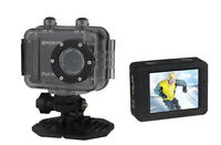 Hd Action Cam Act-5001 Mit Wasserdichtem Gehäuse Und Touchscreen / 1080p