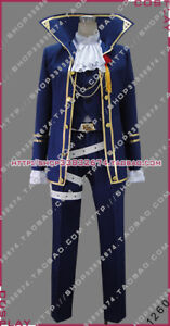 Vocaloid Project F kaito Requiem Halloween Uniform Outfit Cosplay