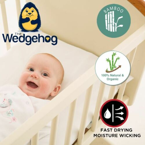 Quilted Wedgehog Deluxe with Free Bundled eBook 38cm Crib Reflux Wedge