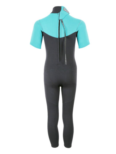 MD Junior 2.5mm Thunderclap Short Arm Full Wetsuit by TBF Kids Childrens Spring