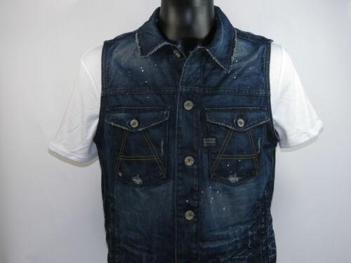 G-Star Giacca A CROTCH slim jacket S//less 82602b.4639.3144 dk aged Taglia M-XL Nuovo
