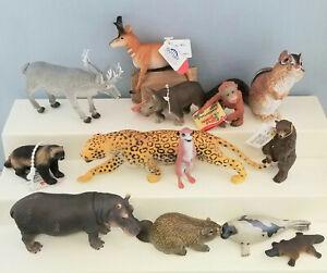 Schleich-Papo-Safari-Mojo-AAA-Model-Toy-WIld-Animal-Figurines-Group-of-13