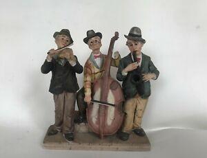 Suonatori jazz. ceramica di capodimonte. vintage da collezione ebay