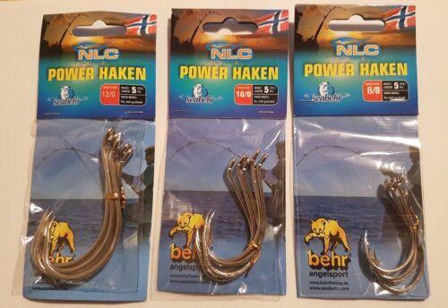 10//0 12//0 Behr Seabehr Angelsport NLC Power Haken Norwegen Größen 8//0