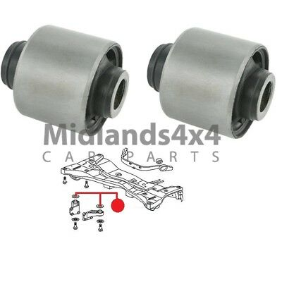 FOR MITSUBISHI OUTLANDER AIRTREK 2003/> REAR DIFFERENTIAL DIFF ARM MOUNT BUSH SET