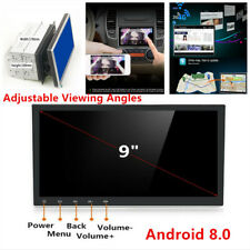 9 Hd Android 80 2 Din Gps Stereo Radio Player Wifi 3g4g Car Truck Navigation