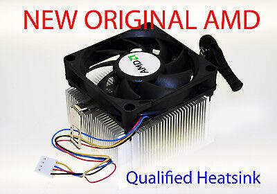 AMD HEATSINK COOLING FAN FOR ATHLON II X4 630-631-635-640-645 SOCKET AM3 NEW