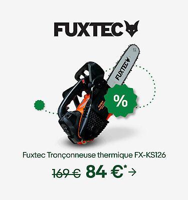 Fuxtec Tronçonneuse thermique FX-KS126
