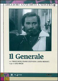 IL GENERALE -  Franco Nero - Sceneggiato Rai -4 DVD  - Nuovo sigillato -
