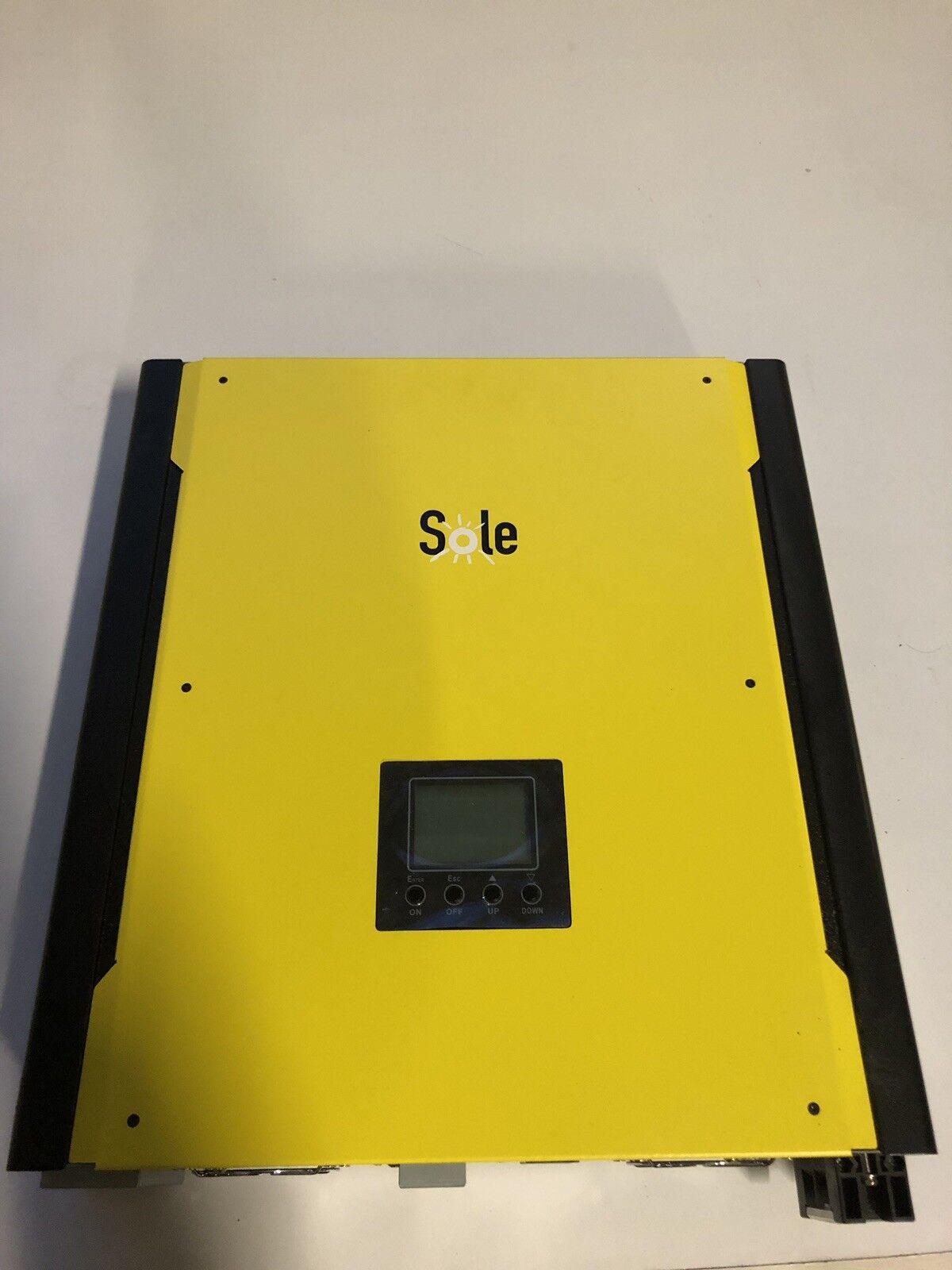 Sole Infiny-Hybrid 4500 Plus   Solar Wechselrichter 3KW 48V