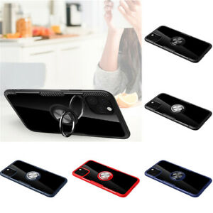 Phone-Case-Clear-Protective-Cover-With-Magnetic-Ring-Stand-For-iPhone-11-Pro-Max