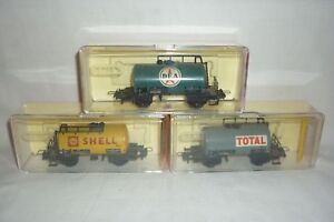 Trix Express - Échelle H0 3 Feuille Wagon-citernes (8.ei-289)