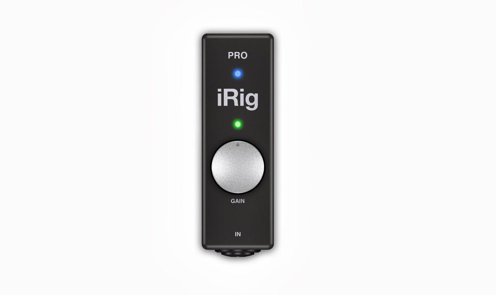 IK Multimedia iRig Pro universelles High Quality Audio-Midi Interface