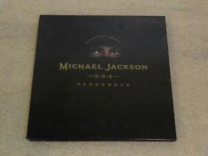 Michael Jackson 1991 1st Print Dangerous Pop Up Collectors Gold Edition CD