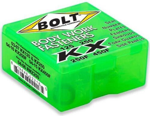 BOLT PLASTIC FASTENER PACK REPLACEMENT BOLTS KAWASAKI KXF250 2006-2016