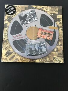 THE-BEATLES-Live-In-Melbourne-039-64-10-034-Clear-Vinyl-LP-Numbered-Ltd-Edn-NEW-SEALED