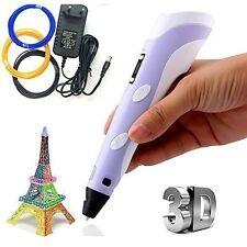3D Pen Kit - LED Screen, Starter Filamen for 3D Printing Pen -New 3D Printer Pen