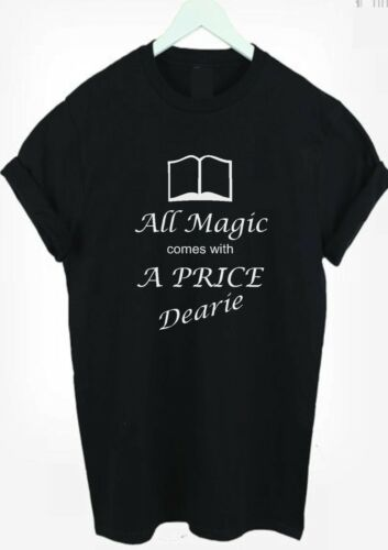 Once upon a time All magic comes with a price t-shirt shirt tee unisex men women