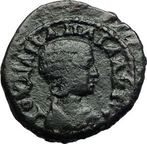 JULIA-MAMAEA-Authentic-Ancient-222AD-Nicaea-Bithynia-Roman-Coin-STANDARDS-i71068