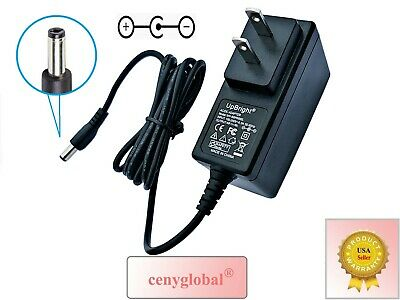 NEGATIVE CENTER PIN 5.5mm 9V 1A 500mA 300mA AC-DC Adapter Power Supply