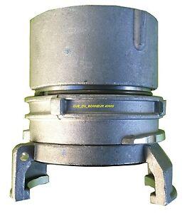 R5042I Réduction Raccord Symétrique Pompier Guillemin A Verrou DN50 x DN40  Alu