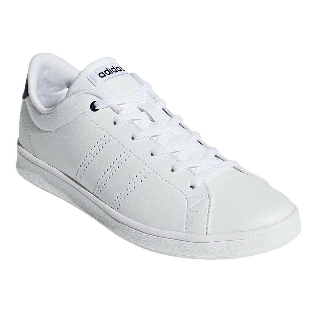 BASKETS ADIDAS FEMME ADVANTAGE CLEAN blanco LEATHER - zapatos ADIDAS FEMME