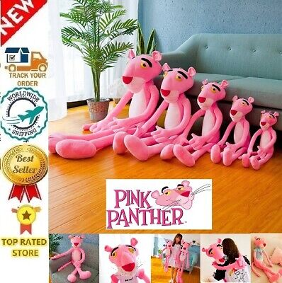 Action Figures Super Cute Pink Panther Leopards Toys for Kids  Home Decoration