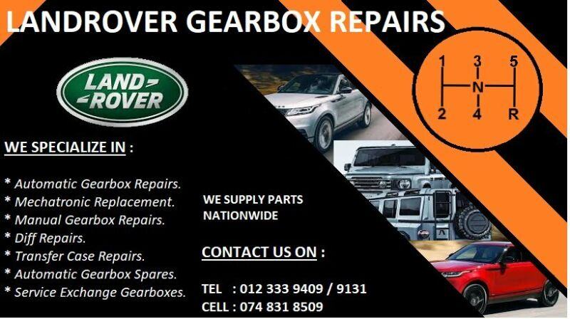Land Rover Gearbox Repair Specialist