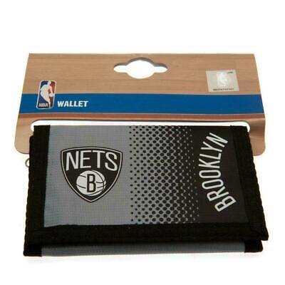 Brooklyn Basket Nba Brooklyn Nets Grigio Nylon Tri-fold Foil Stampa Portafoglio-mostra Il Titolo Originale Prezzo Ragionevole