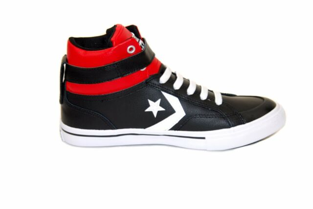 38dba4299b9b Converse Junior Pro Blaze Strap 651835C Sneakers Black Size UK 11 RRP £47  BCF73
